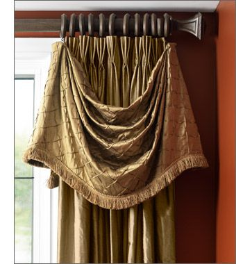 window treatments for arched windows | Soft Window Treatments Fabric Collections Tiebacks / Trimmings Bedding ...