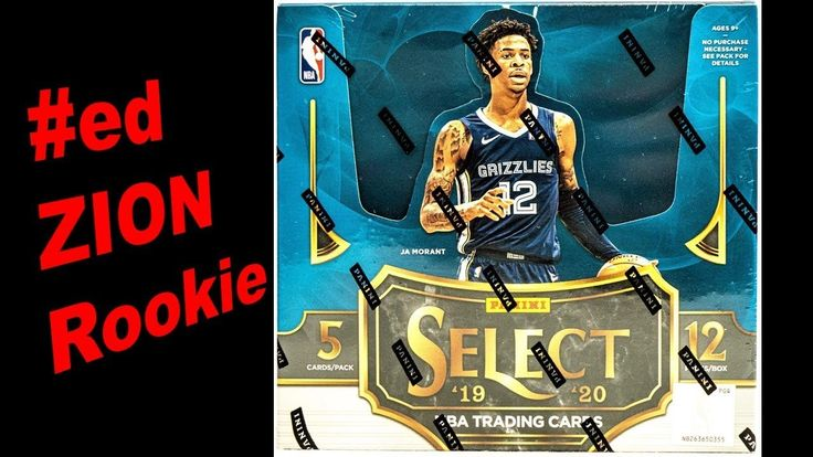 Opening the New Release of 201920 Panini Select