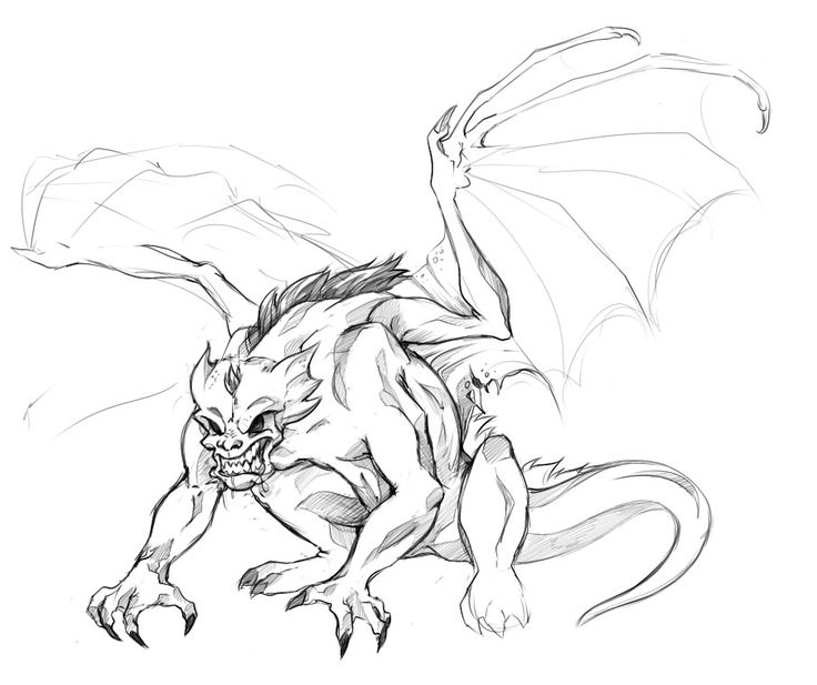 gargoyles characters coloring pages - photo#13