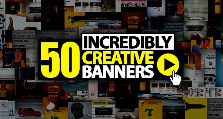 """A collection of 50 super creative banner ads from across the globe. Includes all-time classics, Cannes winners and banners that make you ask yourself – """"Now why didn't I think of that?"""" This is online advertising at its creative best. Please note Click images to view complete animated creatives. Flash browser plug-in required. Disclaimer:All logos […]"""