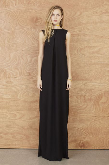 Minimal + Classic: Long Knot Dress by Karen Walker