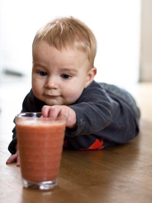 KIDS: 3x groente shake-recept - Chickslovefood.com