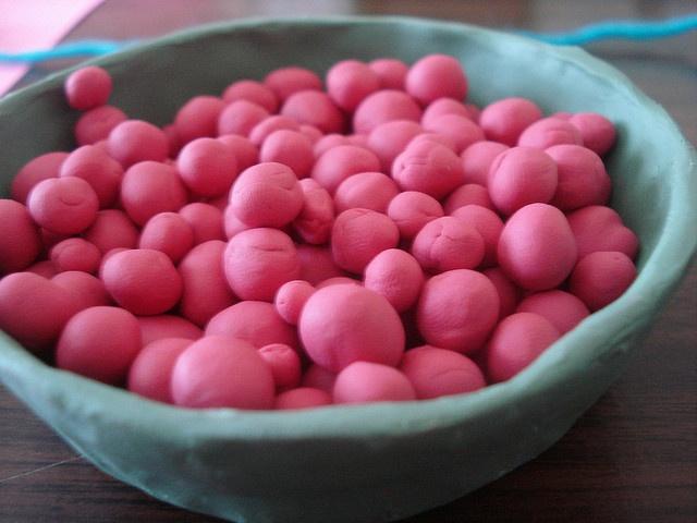 how to make homemade yogurt dots