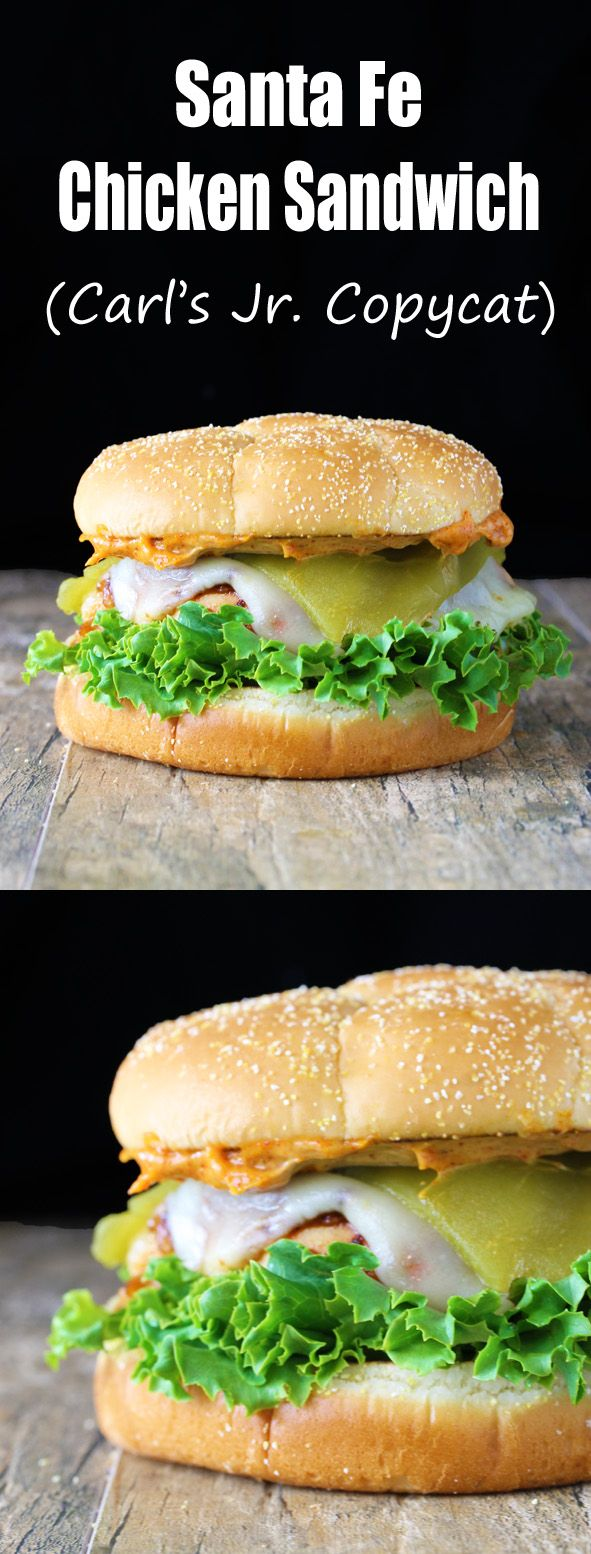 This flavorful chicken sandwich brings back a lot of memories for me. I was 9 years old when my little sister was born. I remember going into the hospital room to see her for the first time. My mom was starving and sent us out to get her what she craved…a Santa Fe Chicken Sandwich from...