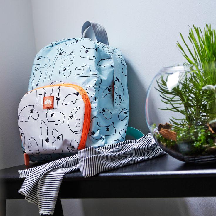 Nyt lapsesi tavarat on helppo kuljettaa paikasta toiseen. Suloisessa repussa kulkee mukana niin lounasrasiat kuin koulutarvikkeet sekä lelutkin.