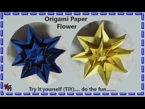 Beautiful paper star by Art House | Paper star DIY tutorial