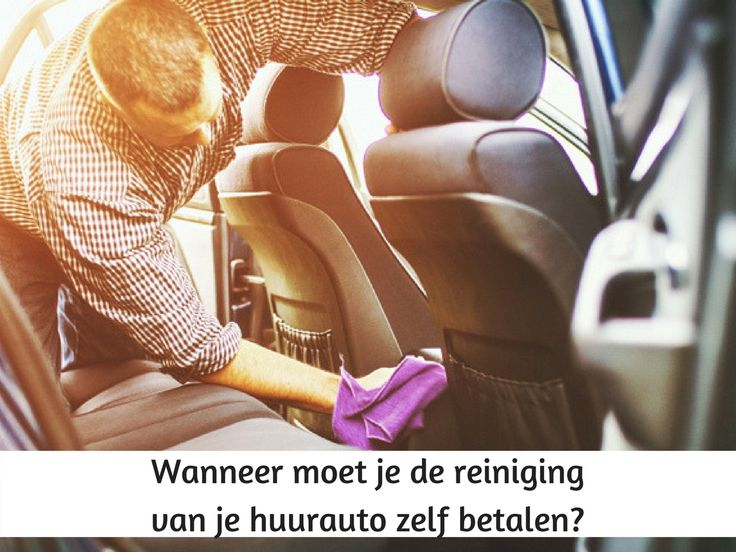 Wanneer moet je de reiniging van je huurauto zelf betalen? #sunnycars #roadtriptip #autoverhuurtip