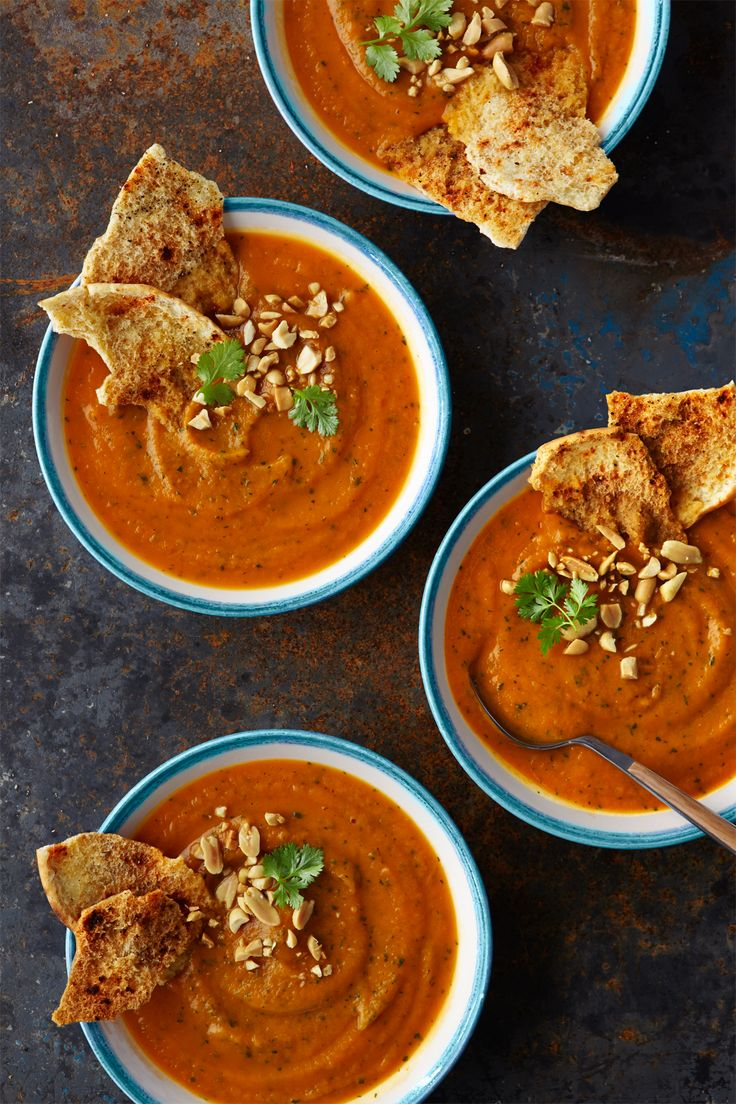 Heat up your evening with this rich, spicy soup.