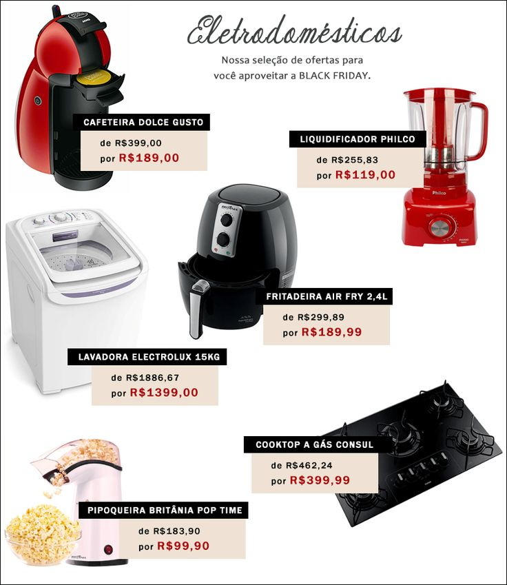 As melhores ofertas da Black Friday 2016 - Casinha Arrumada