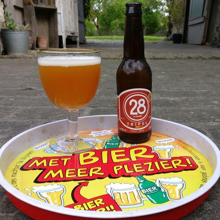 28 by Caulier - blond - Alc 9%vol #blondbier #belgischebieren #belgiumbeer #belgium #belgiumbeers #genieten #28 #28bycauliers #28_by_cauliers #tripel #cauliers #be_at_design #beerstagram #belgianbeer