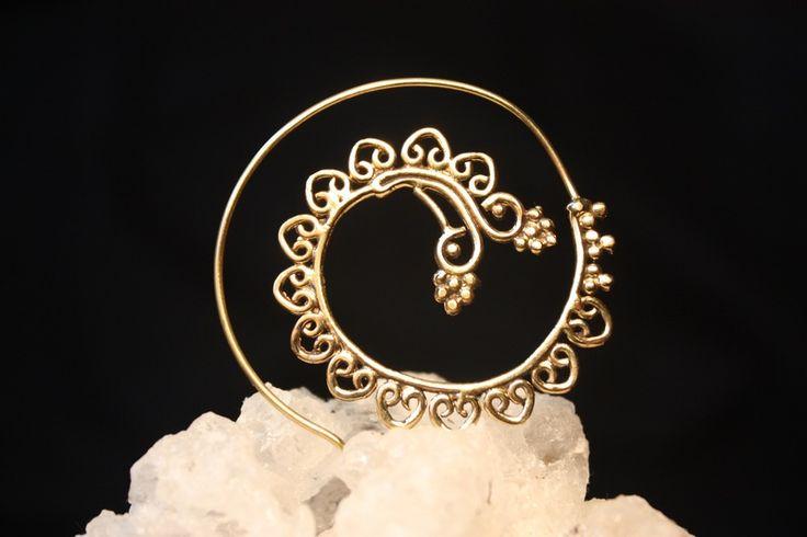 """Ohrringe - Spirale Piercing Ohrring """"Indian Dreams"""" - ein Designerstück von turmaluna bei DaWanda"""