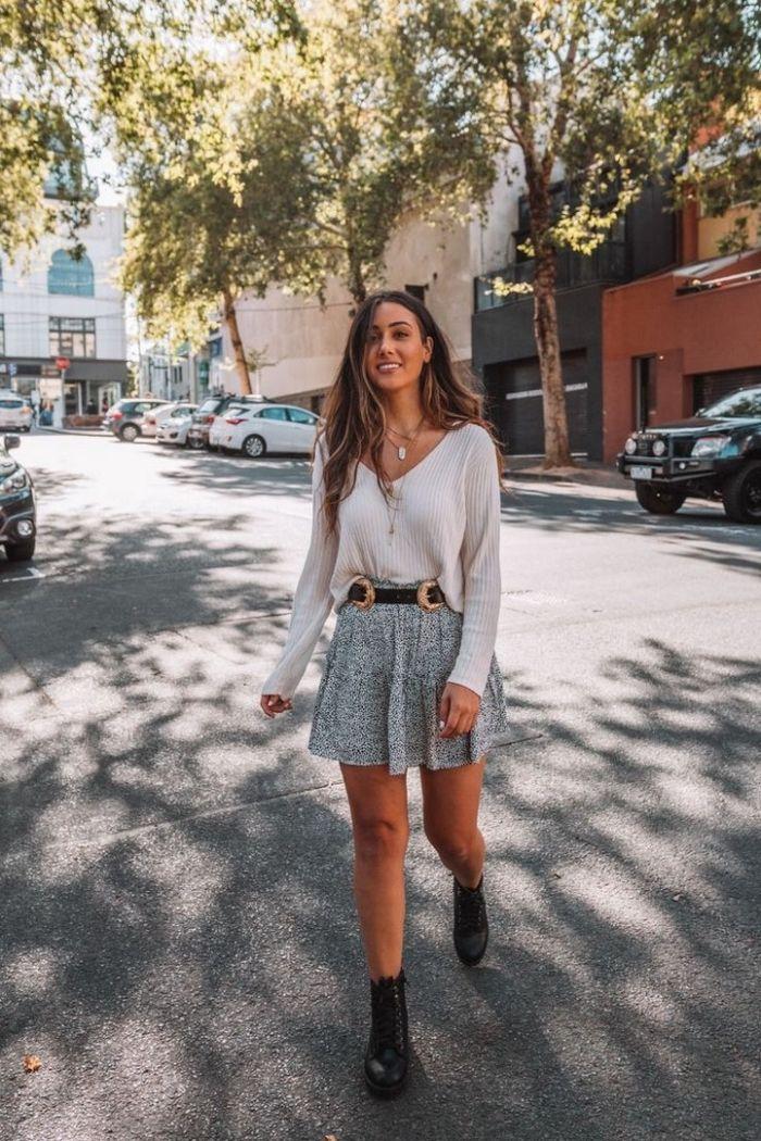 1001 + Ideen für ein tredniges Sommer Outfit für Damen