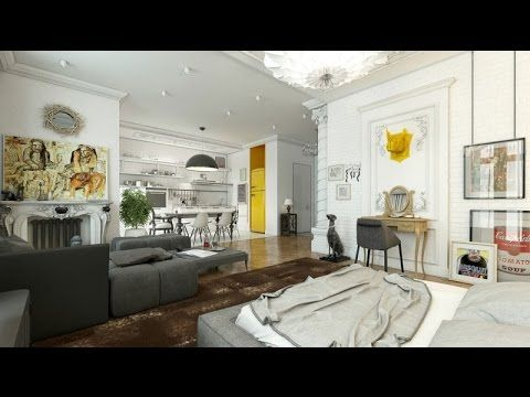 Elegant Interior Visualization by Andrew Kudenko
