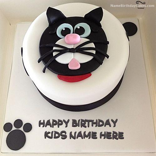 ... Cat Birthday Cakes on Pinterest  Kitty cake, Cat cakes and Kitten
