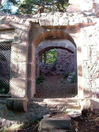 Les châteaux de Ribeauvillé. Alsace