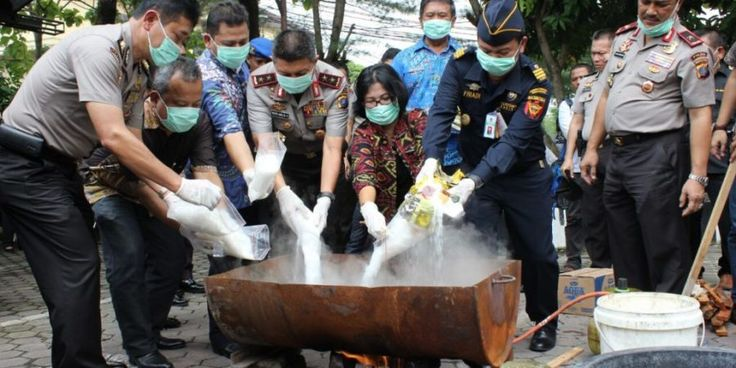 23 Kg Sabu, dan 21,5 Kg Ganja serta 1587 Butir Pil Ekstasi Dimusnahkan Polda Sumut
