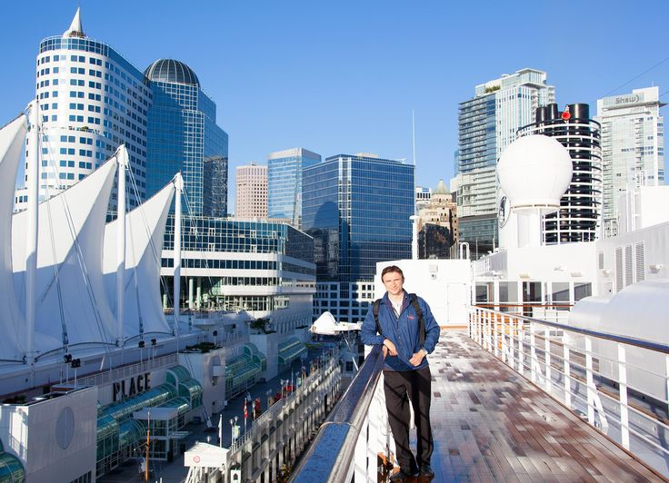 Holland America 'Noordam' cruise ship Vancouver, Canada