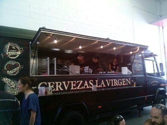Food truck cervezas la virgenvisita a la f brica de cervezas la virgen calle del cabo rufino - Cabo rufino lazaro ...
