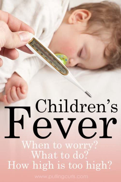 Children's Fever - when do you worry? High fever in children can be really disconcerting. We'll talk about unsafe fever temperature for kids