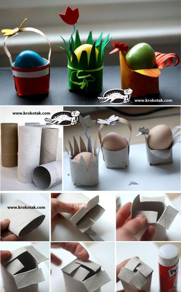 Eenvoudige eierdopjes