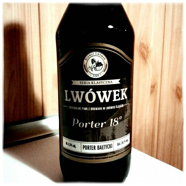 Lwówek Porter bałtycki 18