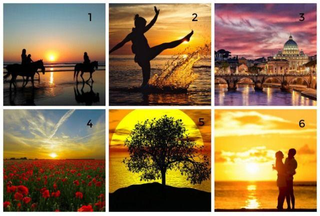 Személyiségteszt: Válaszd ki a kedvenc naplementéd, és derítsd ki mit árul el rólad