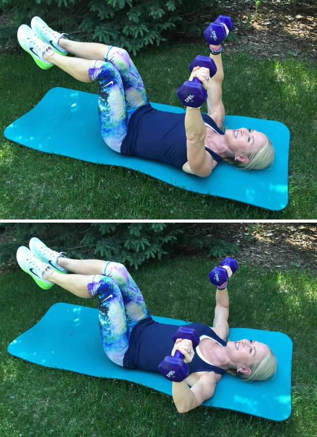 Arm and chest work out