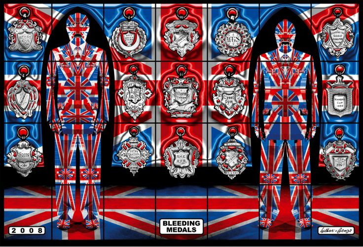 Gilbert and George via @drabshadow
