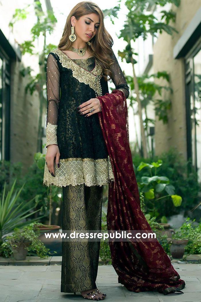 04a62da3f5 Dark Green Umraniye in 2019 | Wedding Guest Dresses | Dresses, Pakistani  dresses, Angrakha style