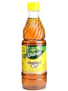 Using Mustard oil for hair growth.