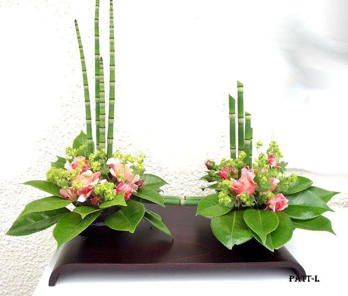 composition florale avec de la pr le et des roses art. Black Bedroom Furniture Sets. Home Design Ideas
