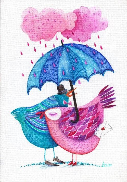 i <3 the rain Madalina Andronic