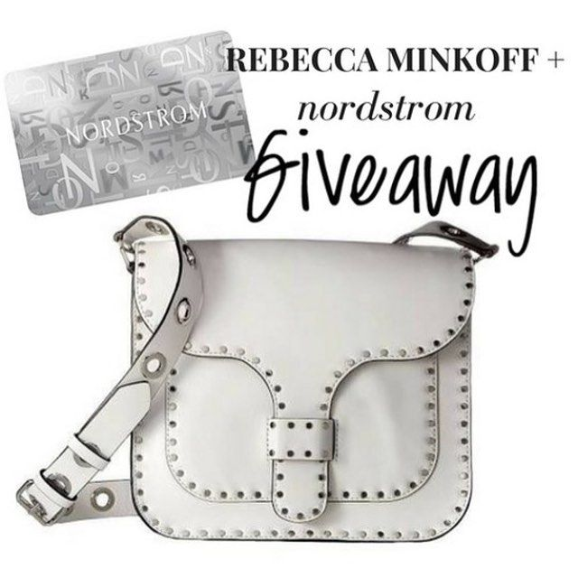 INTERNATIONAL GIVEAWAY Kicking off the start to the weekend with a great giveaway! I've teamed up with some amazing bloggers to give ONE follower a Rebecca Minkoff Large Midnighter Bag  a $100 Gift Card to Nordstrom!   TO ENTER: 1. LIKE this photo  2. Follow ALL of the following accounts: @pineappleandprosecco  @alismithstyle  @uniquelyjulz @twentiesgirlstyle @whitswhims  @sydneypower_  @brittfriedman @tonyamichelle26  @whatcourtwore @thestylesauce @fashionablykay @astylesewlovely  BONUS…