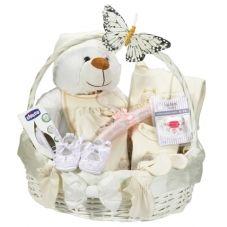 Organik bebek hediye sepeti. Hastanelere  doğum hediyesi organik bebek hediye sepeti gönderin bebekler bu hediyelerin hepsini kullansın.