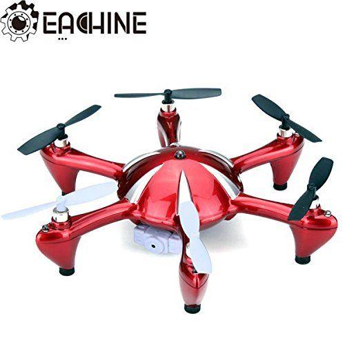 Eachine X6 2.4G 4CH 6 Axis RC Hexacopter With 2MP Camera RTF(Color Random) IRISMARU