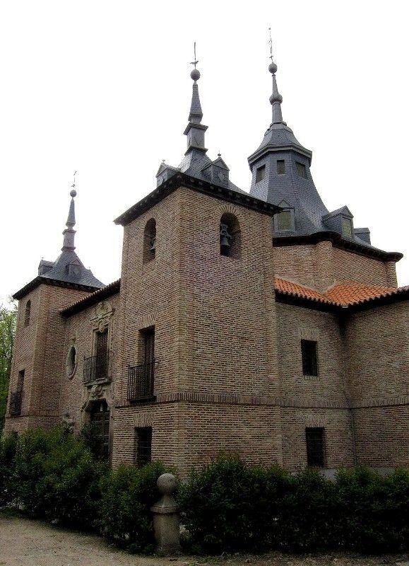 """Pedro de Ribera: """"Ermita de la Virgen del Puerto"""", 1729. Madrid."""
