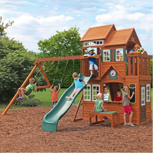 8 best playsets images on pinterest play sets backyard for Do it yourself swing