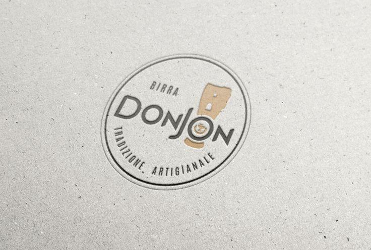 logo birrificio artigianale Donjon