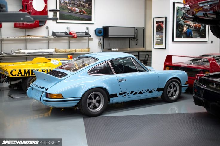 Gulf Blue Porsche 911 Carrera Rs 2 7 Porsche Pinterest