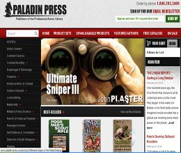 Get Paladin Press coupons code, Paladin Press discount code and Paladin Press promotion code for discount shopping get all coupons from DeliciousCoupon.com
