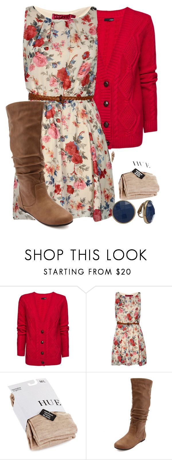 """Teacher Outfits on a Teacher's Budget 149"" by allij28 ❤ liked on Polyvore featuring MANGO, Boohoo, Hue, Charlotte Russe and Dana Buchman"