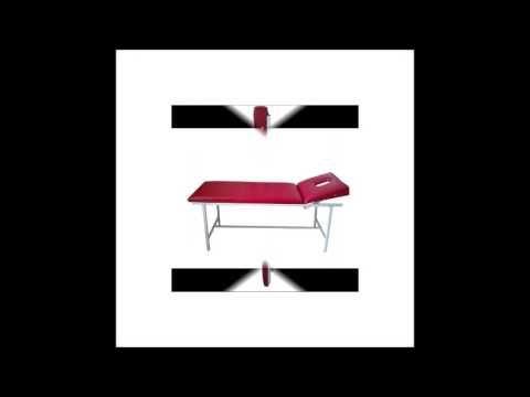 Katlanabilir Kırmızı Masaj Masası Modeli