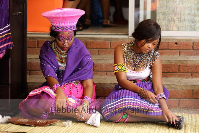 Umabo. Zulu bride