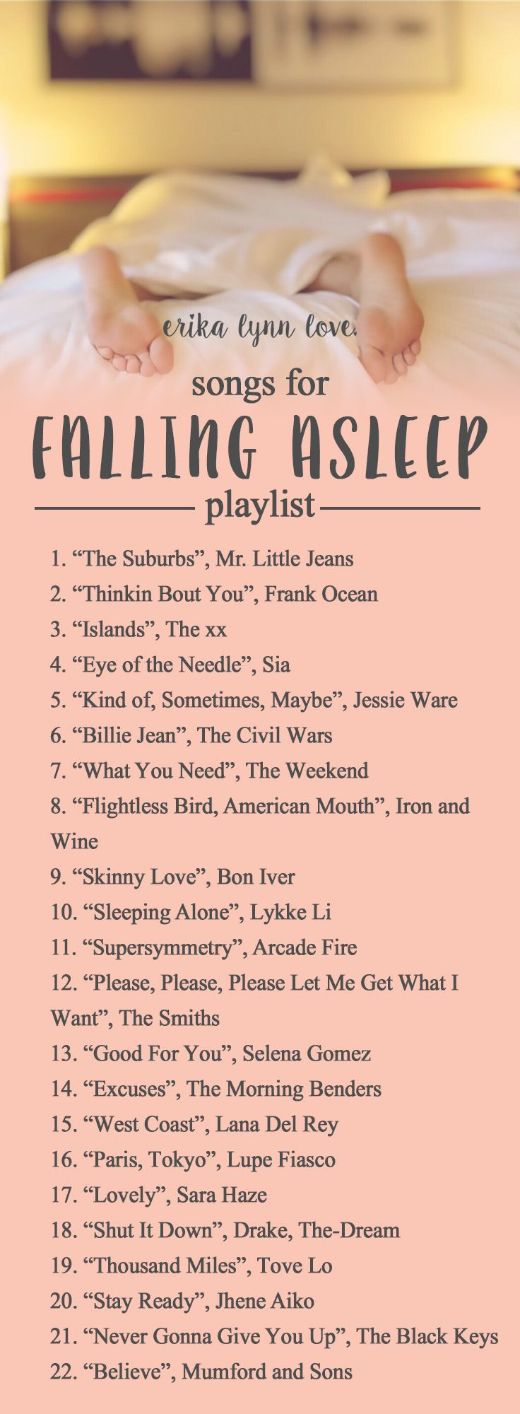 Need help #sleeping tonight? These #songs might help you get some rest! #playlist #sleep