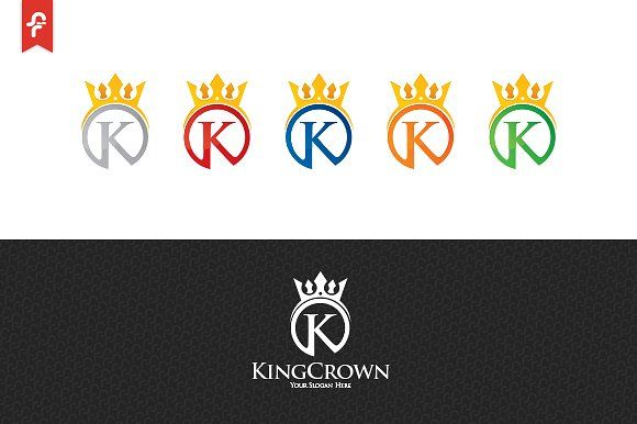King Crown Logo Crown King Templates Logo Crown Logo Templates