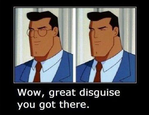 funny cartoon logic - superman
