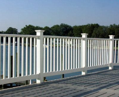 17 best ideas about vinyl deck railing on pinterest vinyl deck decks and patio deck designs - Vinyl deck railing lowes ...