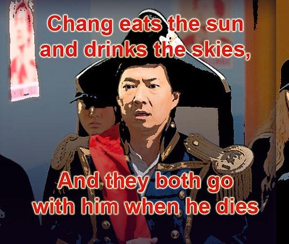 Chang Propoganda Posters | Photo Gallery | Community | NBC ...