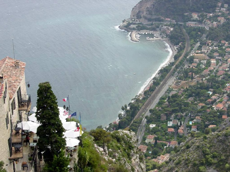Eze-France, 1300ft above Mediterranean