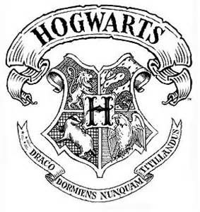 hogwarts crest black and white - Yahoo Search Results